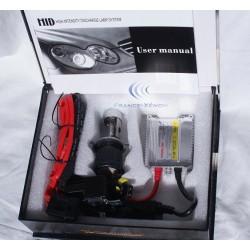 H4 Bi-Xenon - 8000 ° K - Ballast Slim - moto