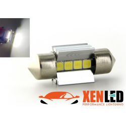 1 x BULB C3W T10,5x30 31mm 4 White LEDs Super Canbus 205Lms XENLED - PALLADIUM