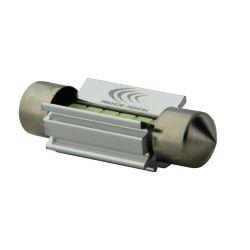 1 x BULB C5W SV8.5 36mm 6 ICE BLUE LEDs Super Canbus 173Lms XENLED - PALLADIUM