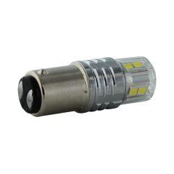 1 x BULB BA15D 12-LED Super Canbus 850Lms XENLED 24W - PALLADIUM - P21 - SBC 6402