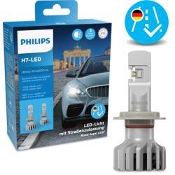 2X BULBS H7 ULTINON PRO6000 HL LED PHILIPS 5800K 11972U6000X2