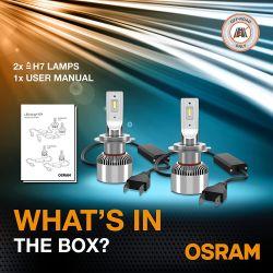 Kit LED H7 OSRAM XTR LEDriving OSRAM Px26d - 64210DWXTR - 18W