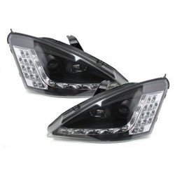 DECTANE DRL look headlight Ford Focus 01-04_drl optic_black