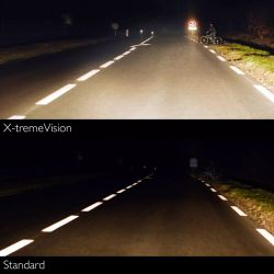 1x H4 12V 60/55W XtremeVision moto 10G +130%  12342XV+BW