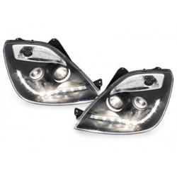DECTANE DRL look headlight Ford Fiesta 01-05_drl optic_black