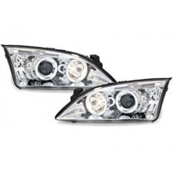 Lot 2 phares Ford Mondeo 00-07_2 halo rims_chrome