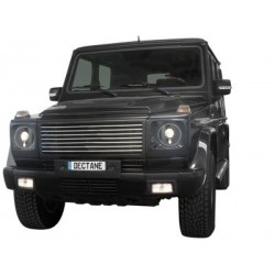 headlights Mercedes Benz G class 92-06_black