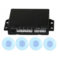 Radar de recul 4 capteurs à peindre - buzzer