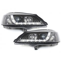 Lot 2 phares DECTANE DRL look Opel Astra G 98-04_drl optic_black