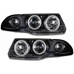 headlights Opel Astra F 91-94_2 CCFL halo rims_black