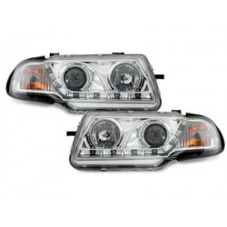 DECTANE DRL look headlight Opel Astra F 91-94_drl optic_chrome