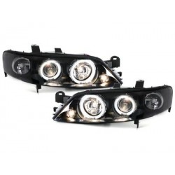 headlights Opel Vectra B 96-99_2 CCFL halo rims_black