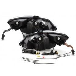 Lot 2 phares DECTANE DRL Seat Leon 1P_09+_black