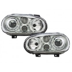 headlights VW Golf IV 97-04 R32-Look_chrome