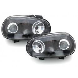 Lot 2 headlights vw golf iv r32-97-04 look_black