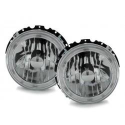 Lot 2 headlights vw golf i 74-83_halo rims_cross_chrome