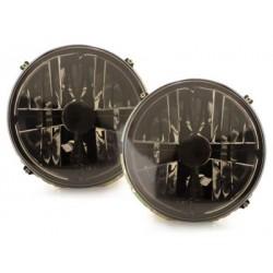 Lot 2 headlights vw golf i cross_ with black chrome