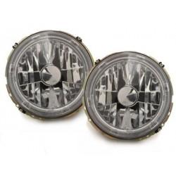 Lot 2 vw golf i + 74-83 headlights cabrio_halo rims_chrome