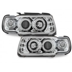 headlights VW Polo 6N 95-98_2 halo rims_chrome