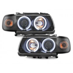 headlights VW Polo 6N 95-98_2 CCFL halo rims_black