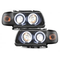 headlights VW Polo 6N 95-98_2 CCFL halo rims_black