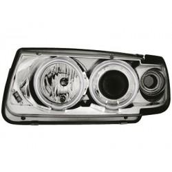 headlights VW Polo 6N 95-98_2 CCFL halo rims_chrome