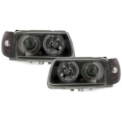 headlights VW Polo 6N 95-98_2 halo rims_black