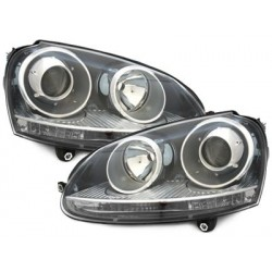headlights VW Golf V 03-07_GTI Look_black