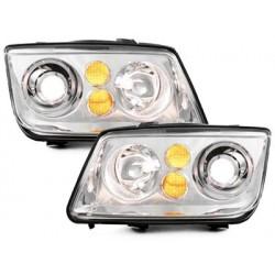 **headlights VW Bora 98-05 _ Xenon look _ chrome