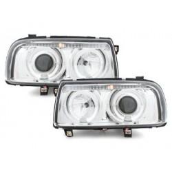 headlights VW Vento 91-98_2 halo rims_chrome
