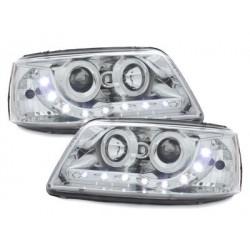Lot 2 drl headlights Dectane look vw t5 03-09_drl optic_rhd