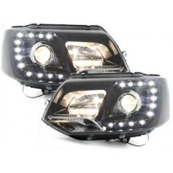 Lot 2 Dectane headlights vw t5 gp_2010 + _black