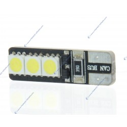 2 x BOMBILLAS 5 LED BIANCO - LED SMD - 5 led - T10 W5W