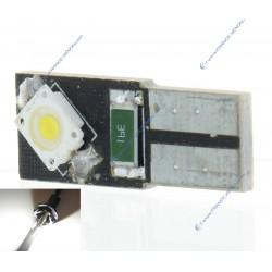 BULB 2 LEDS OSR CANBUS WHITE - T10 W5W
