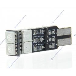BULB 6 LED SMD RGB - W5W - Strobo
