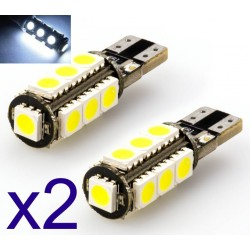 2 x 13 led SMD CANBUS - T10 W5W Lampen