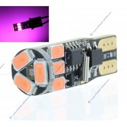 BULB 9 LED SMD PINK - W5W - Strobo