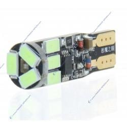 BULB 9 LED SMD BLO - W5W - Strobo