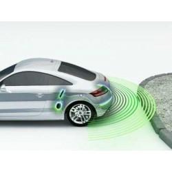 Sensori di parcheggio 4 sensori bianco - Buzzer