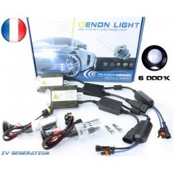 Kit Xénon H3 - 6000 °K - Ballast LUXE XPU FDR3+ - voiture