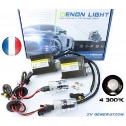 Kit Xénon H3 - 4300K - Slim Ballast  - voiture