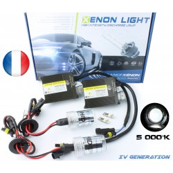 Kit Xenon H7 lampadine corte - 5000K - Slim Ballast - auto