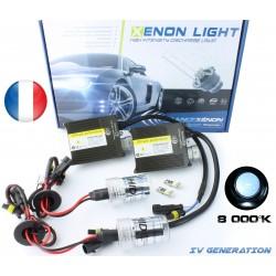 Kit Xénon HB3 - 8000 °K - Slim Ballast - voiture 9005