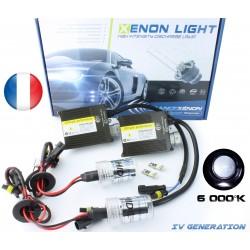 Kit Xénon HB3 - 6000 °K - Slim Ballast - voiture