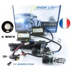 H4-3 Bi-Xenon - 4300K - Slim Ballast - Auto
