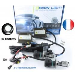HID Kit H4-3 Bi-Xenon - 5000K - Slim Ballast