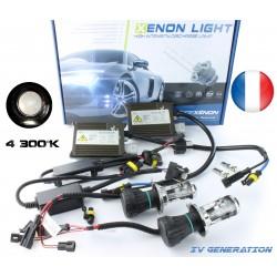 H4-3 Bi-Xenon - 4300K - fdr3 canbus + car