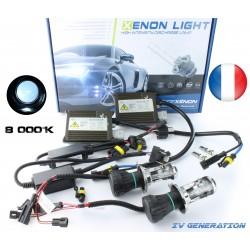 H4-3 Bi-Xenon - 8000k - fdr3 canbus + car