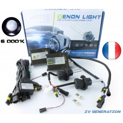 HB6 9008 Xenon - 6000K - Slim Ballast - Auto