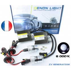 H4 single xenon - 55w 6000k - normal ballast - Car